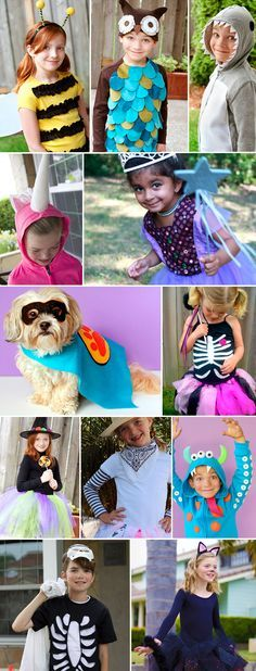 Whether you're looking for spooky, silly, sweet or funny, these handmade kid costumes are perfect for Halloween! Dare to DIY and create these easy costumes for your family.