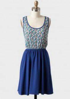 A nice blue summer time dress