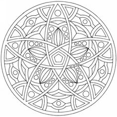 This expert Mandala coloring sheet is a fun design and quite challenging to color. Mandala coloring page can be decorated online with the . Mandala Art, Celtic Mandala, Mandalas Drawing, Mandala Coloring Pages, Mandala Pattern, Coloring Book Pages, Printable Coloring Pages, Zentangles, Coloring Sheets