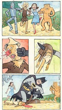 You can't hide forever, Scarecrow!!!