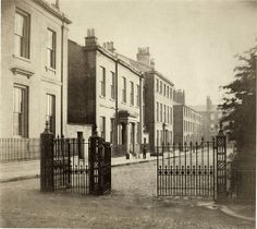 Addison family. Winckley Square Preston 1863: Taken from the south-east corner of the square, showing the south side residences. Photograph by Robert Pateson http://www.flickr.com/photos/rpsmithbarney/5353712506/
