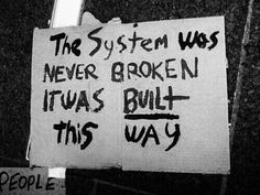 Fixing Our Broken Systems