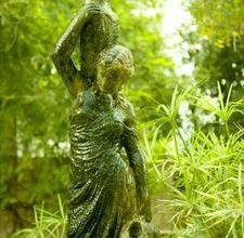 How to grow moss on a garden statue to make your yard more mysterious and inviting.