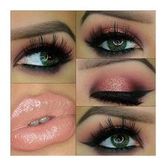 Hot Ways to Wear Pink Lipstick Now . Cool Makeup Looks, Gorgeous Makeup, Pretty Makeup, Make Up Looks, Kiss Makeup, Hair Makeup, Makeup Lipstick, Yves Saint Laurent, Beauty Make-up