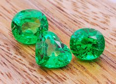 Often called the Rolls-Royce of greens at Cadillac prices, tsavorite a hundred times more rare than emerald.  It is also cleaner, more brilliant and not oiled or treated in any way. Although Tsavorite is the name usually associated with the darker green garnet, there is no universally accepted standard that designates which shade of green qualifies a stone as tsavorite.  More @ www.multicolour.com and #gemstones