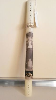 Easter Candle, Baby Christening, Decoupage, Candles, Handmade, Crafts, Ideas, Candle, Bebe