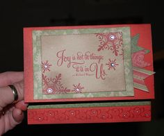 """Close to My Heart Cards 
