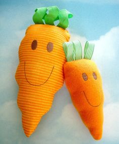Embroidery Design for Machine Embroidery Carrot Toy