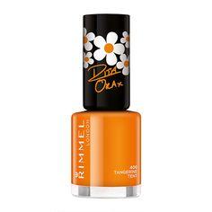 Rimmel 60 Seconds Nail Polish - Rita Ora Summer Collection - love a bright orange nail polish! <3 #feeluniquemagpies