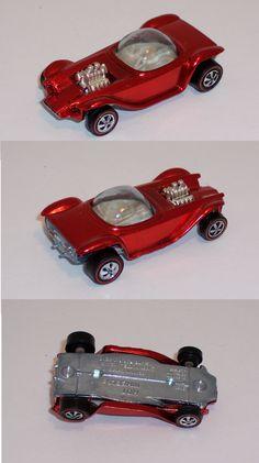 1968 Hot Wheels Red Line Beatnik Bandit US Red