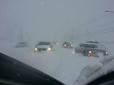 lake effect snowstorm ny | ... presumably on the south side of Buffalo, NY (photo: Jeremiah William