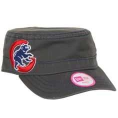 Chicago Cubs Ladies Fashion Chic Cadet Adjustable Hat by New Era | Sports World Chicago $25.95  @Chicago Cubs #ChicagoCubs