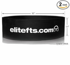 EliteFTS Pro Resistance Band (Light - are orange): This band is