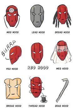 Some bad Jason Todd puns [Robin puns]