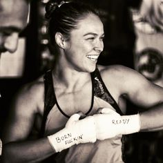Ronda Rousey expertly dismisses critics who think her body is too masculine.