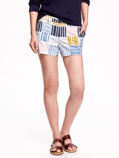"""Everyday Twill Shorts for Women (3 1/2"""") Product Image"""