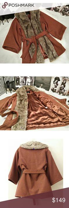 Spotted while shopping on Poshmark: HP Kimono Wrap Coat! #poshmark #fashion #shopping #style #Boutique #Jackets & Blazers