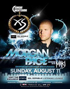 w/ Morgan Page, Makj @ XS ~on~ August 11