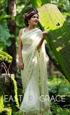 Hey Beautiful... We are so *happy* to announce that our August 2016 Collection is LIVE on our website at www.eastandgrace.com :) You are warmly welcome to visit our online store and browse through COLLECTIONS. First 20 ladies will get a 15% discount off of the listing price on all new sarees with discount code AUG201615OFF We offer FREE blouse piece material, lining material, and petticoat material with ALL our sarees, and shipping in India is FREE & flat $30 for all international orders.