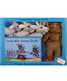 Buy The Puppet Company 3 Goats Gruff and Troll Puppets at Argos.co.uk, visit Argos.co.uk to shop online for Baby activity toys