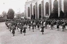 145 Bevrijding. Schotse pijpers. 29-10-1944