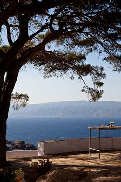 a view on the Greek island Hydra | Michael Koronis for House by Life & Style