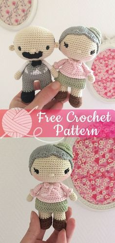 Crochet Doll Crochet Patterns Miss Marple Amigurumi – All About Crochet Bag Crochet, Crochet Gratis, Cute Crochet, Crochet Toys, Crochet Baby, Beautiful Crochet, Crochet Shawl, Crotchet, Crochet Doilies
