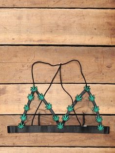 We're about to take your bralette game to a higher level. Featuring mesh triangle cups that are accented with green embroidered marijuana leafs. Super thin straps with a stretchy elastic bust with three adjustment clasps. Delicate Lingerie, Cute Lingerie, Bra Lingerie, Sheer Bra, Lace Bra, Festival Looks, Diy Bralette, Cute Underwear, Cute Bras