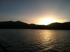 Park City, Utah: The sunset over the Jordanelle Reservoir was beautiful on June 25.