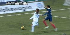 """Alex Morgan burns France defender"" Can I be her :O Usa Soccer Team, Us Soccer, Good Soccer Players, Play Soccer, Football Soccer, Messi Soccer, Nike Soccer, Soccer Cleats, Soccer Gifs"