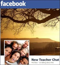 New Teacher Chat #ntchat  is on Facebook. We are growing everday. Join us!