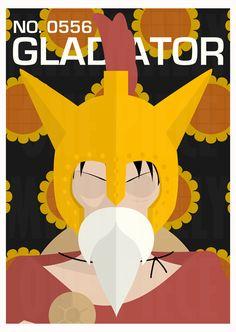 Gladiator No. 0556 by MinimallyOnePiece.deviantart.com on @deviantART
