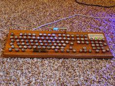 DIY steampunk keyboard Please visit our website @ www.steampunkvapemod.com