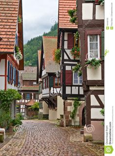 The Village Of Schiltach In Germany - Download From Over 68 Million High Quality Stock Photos, Images, Vectors. Sign up for FREE today. Image: 16440703