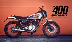 Racing Cafè: Yamaha SR 400 by Renard Speed Shop