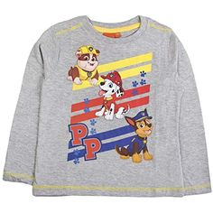 e151ffae1 Nickelodeon - Camiseta de manga larga - Manga Larga - para niña  Ropa  Niño