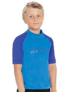 Speedo Logo Boys Sun Top 1