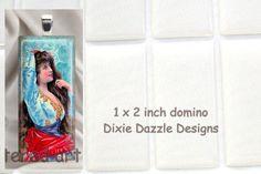 20 domino seals 1x2 inch (25x50mm) DOMINO size clear epoxy stickers, domed cover cabochon for pendant jewelry #rectangle #DominoSeal #SelfAdhesive #epoxy #EpoxySticker #ResinDots #tile #JewelryMaking #EpoxyDot #cabochon