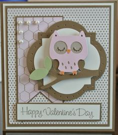 Cricut Owl Card. Create a Critter Cartridge.