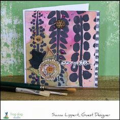Mixed media cards by Sanna | The Crafter's Workshop
