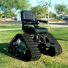 Tank chair!!