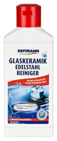 Heitmann Glaskeramik Edelstahl Reiniger 250ml