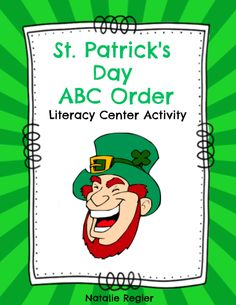St. Patrick's Day ABC Order  - The St. Patrick's Day ABC Order is a great activity to add to your literacy centers. It can also be used as a partner activity or an anchor activity for students to complete when they are finished their regular work. #teachersherpa