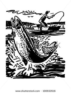 Find Fisherman Reeling Trout Retro Clipart Illustration stock images in HD and millions of other royalty-free stock photos, illustrations and vectors in the Shutterstock collection. Thousands of new, high-quality pictures added every day. Fish Logo, Trout Fishing, Vector Graphics, Travel Posters, Royalty Free Stock Photos, Clip Art, Illustration, Cnc, Vectors