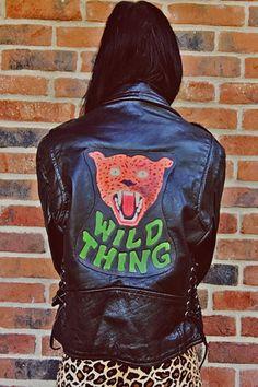 Route 66 Custom WILD THING Leather Jacket #2