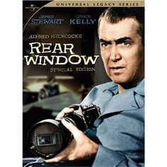 Rear Window... Classic Hitchcock, at his best! I love the old Hitchcock films, but this is my favorite. I feel like I'm right there at the end. Damn, he was a genius.   >I've a feeling we're not in Kansas anymore... Bruce Wise.