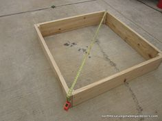 Detailed instructions on how to build a raised Bed for vegetable gardening | North Texas Vegetable Gardeners Blog | Great blog for North Texas gardeners