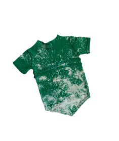 Mean Green V Tee by Cheeky Face Apparel. Hand dyed kelly green fabric.  Unique 81b4d77c6d8a