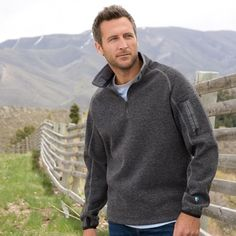 Thor 1/4 Zip All-Wear from Sundance on shop.CatalogSpree.com, your personal digital mall.