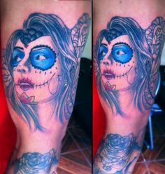 Catrina girl tattoo - adaptation of a good friend!!